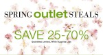 Avon Spring Outlet Steals