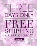Avon Three Days Only of FREE Shipping Campaign 9
